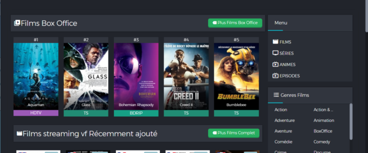 Top site regarder films streaming vf