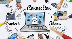 les réseaux sociaux : un vecteur d'informations pour sites web et blogs
